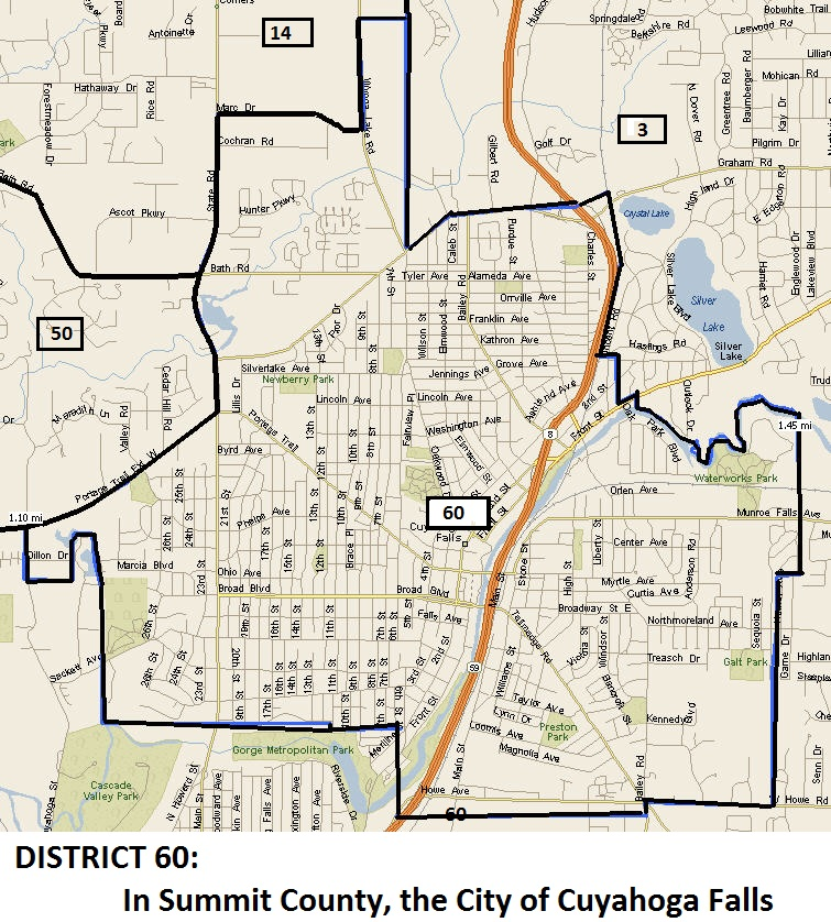 Akron Multidistrict 1 2 3 4A 4B 49 50 60